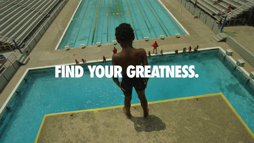 "Nike Launches ""Find Your Greatness"" Campaign"