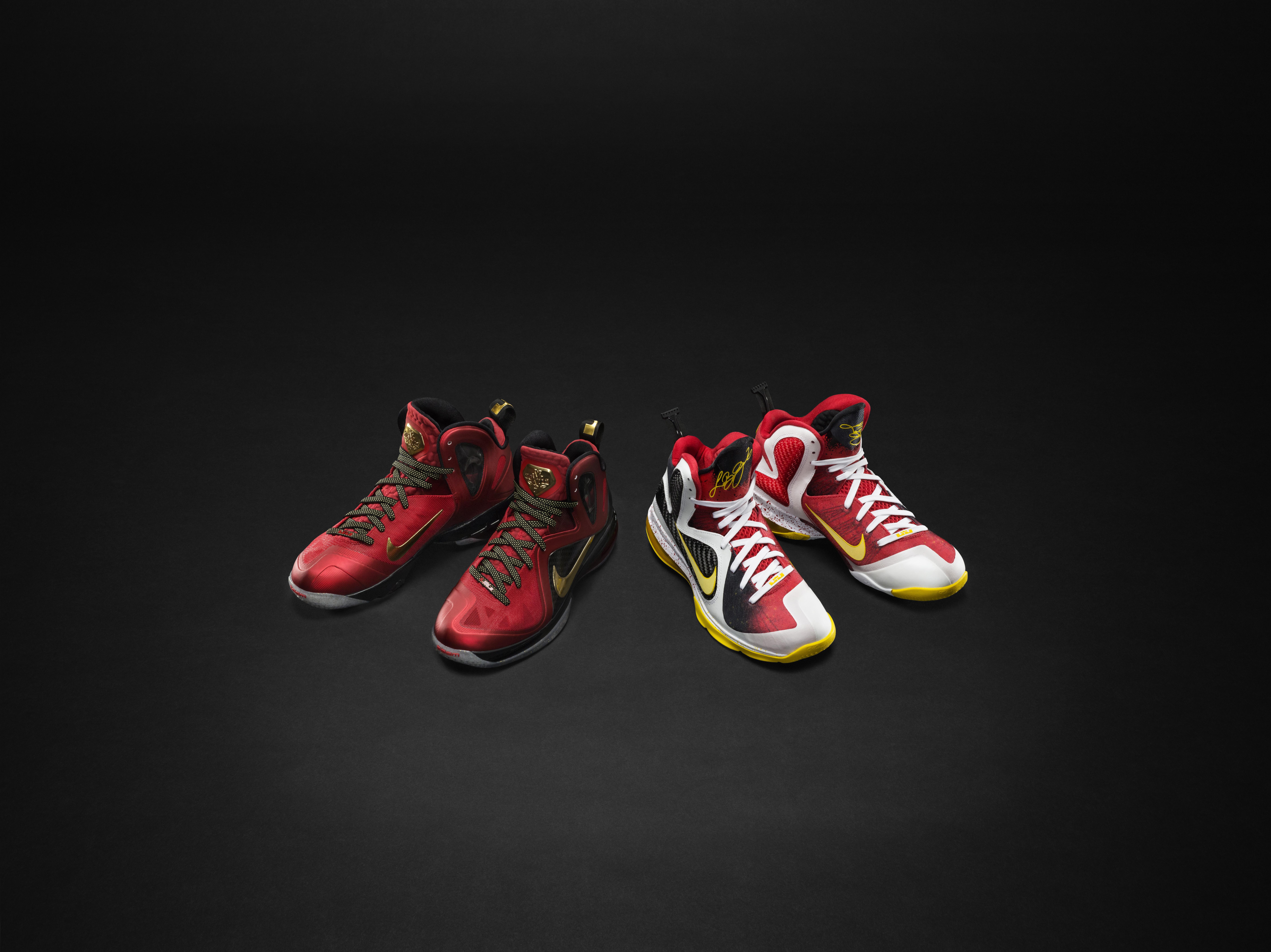 New Cheap Nike Lebron 9 iD First Game