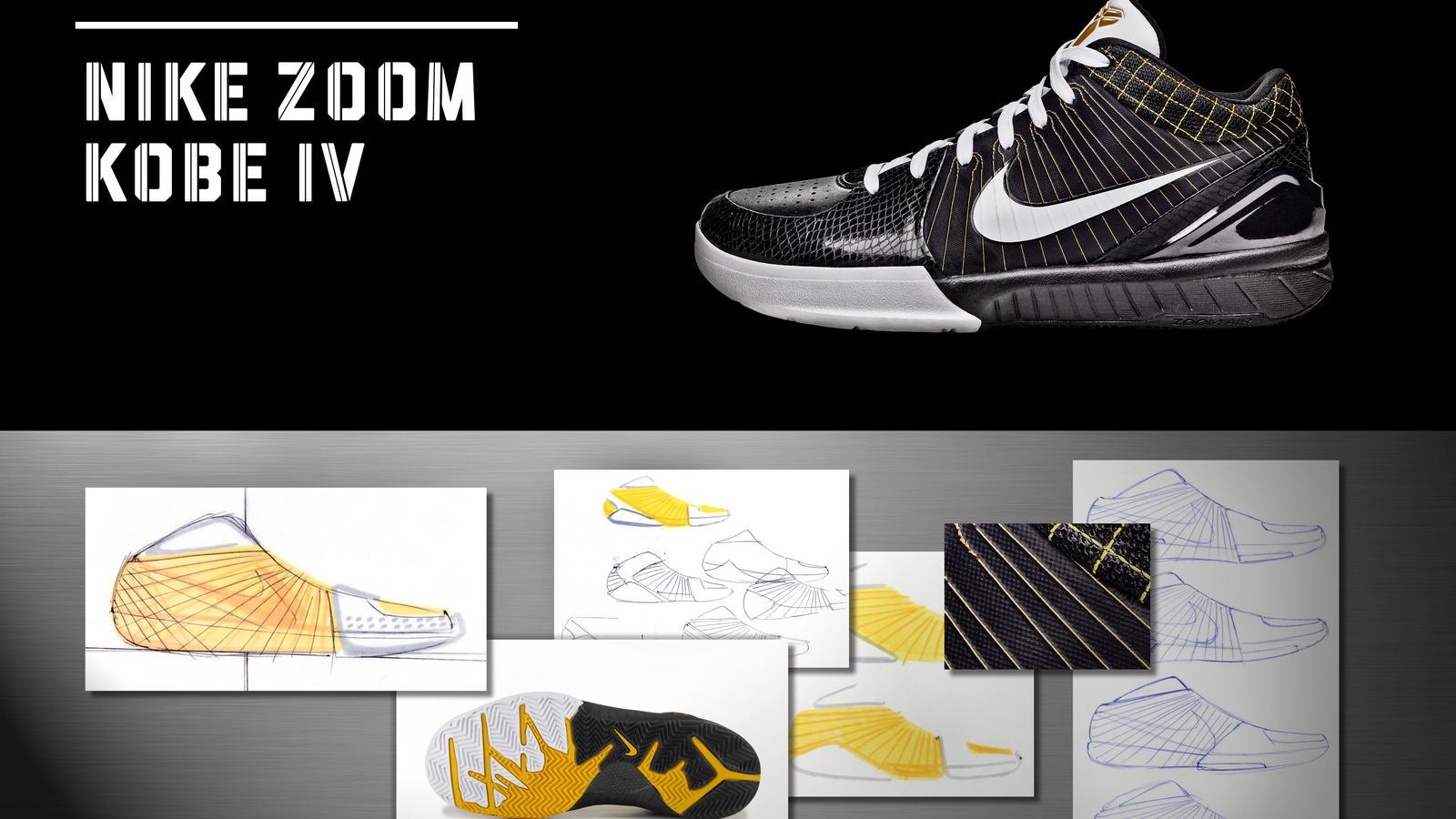 detailed look 1ec78 ef2e3 nike zoom kobe iv sneakers