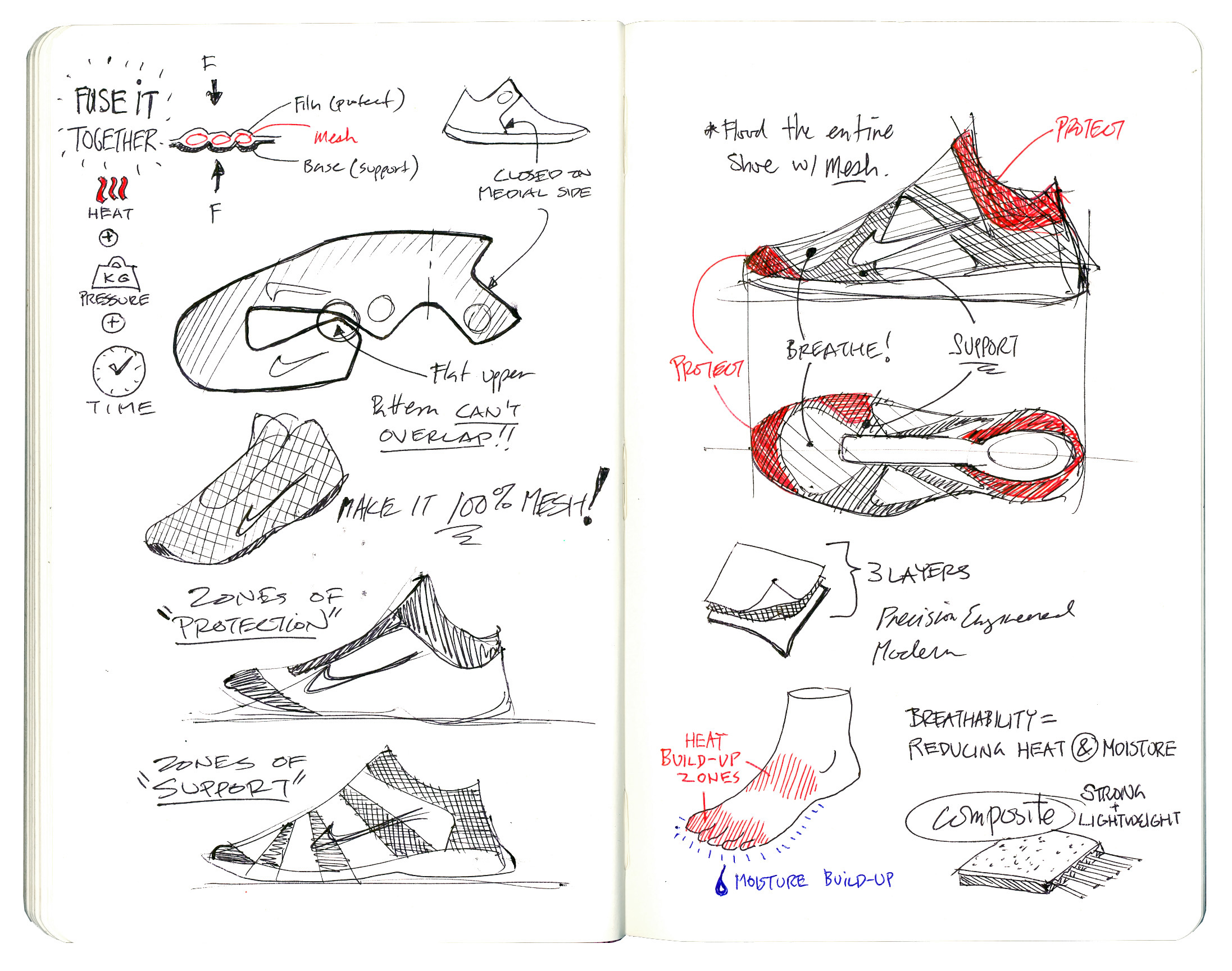 nike presents  20 designs that changed the game