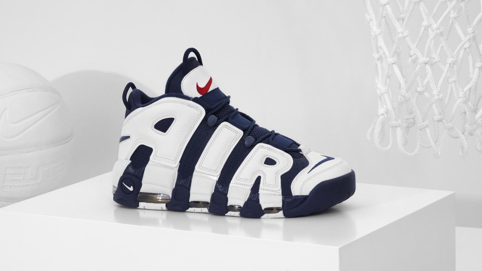 Nike Air Max Nike Basketball Schuhe Nike Air More Uptempo