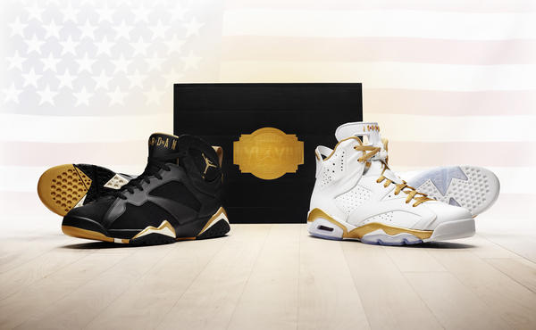 sports shoes 59d56 21914 Jordan Brand unveils the  Golden Moments  pack releasing on Aug. 18 - Nike  News