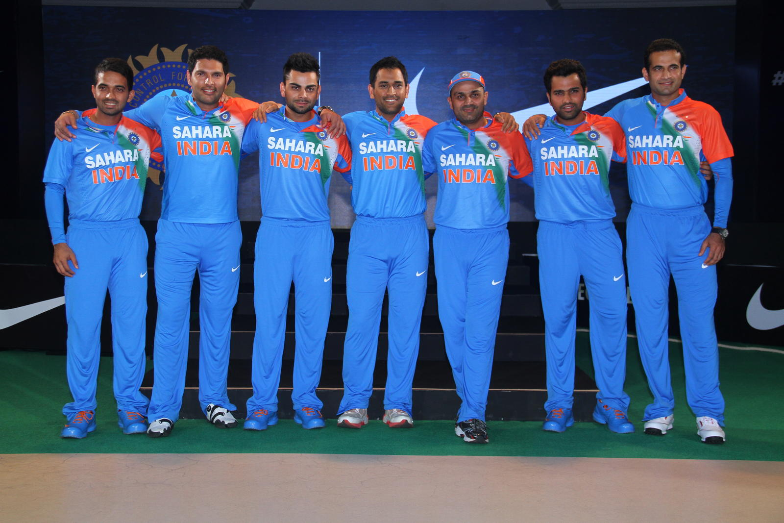 Photos Environment Friendly Jerseys For Team India: Nike Unveils Innovative T20 Cricket Kit For Team India