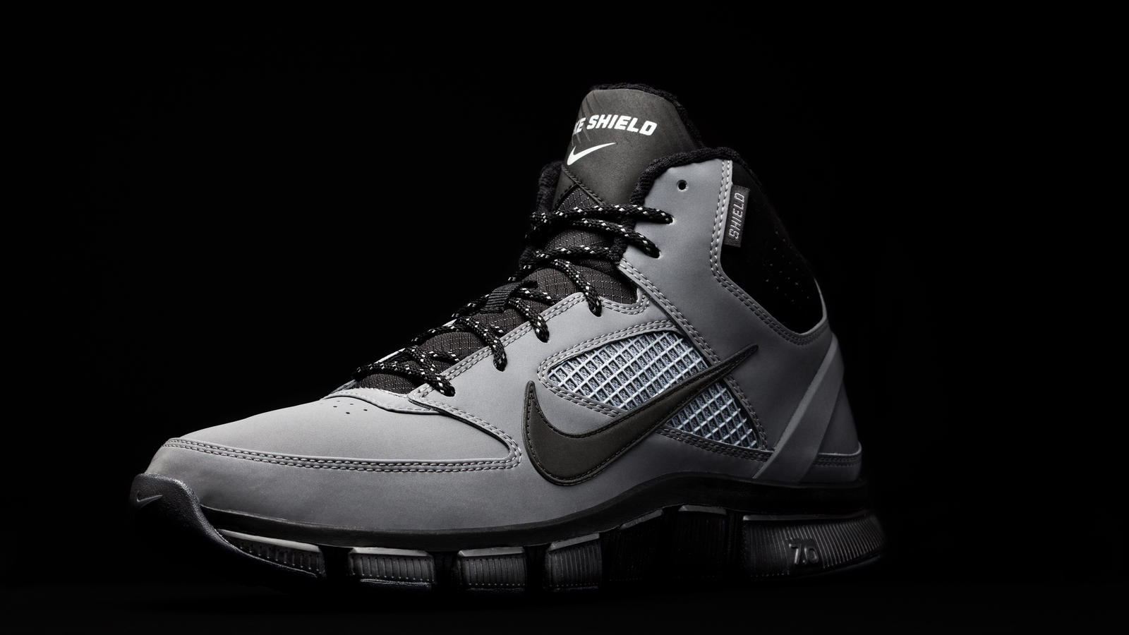new concept 94619 a819f Designed to the training specifications of athletes across multiple sports,  the Nike Free Trainer 7.0 Shield features lockdown support, Nike Free  natural ...