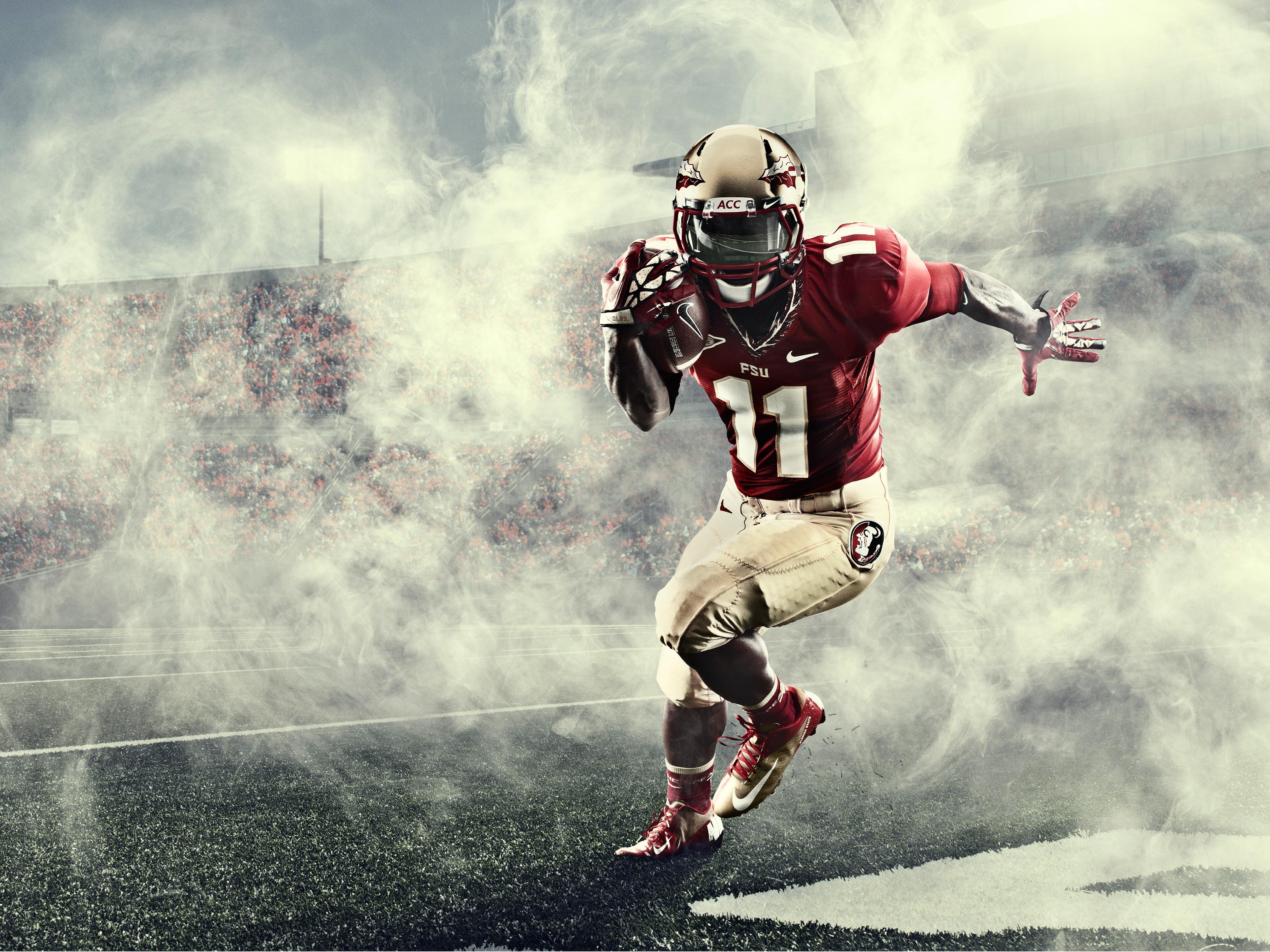 Seminoles trojans kick off college football season in new nike lo hi seminoles voltagebd Choice Image