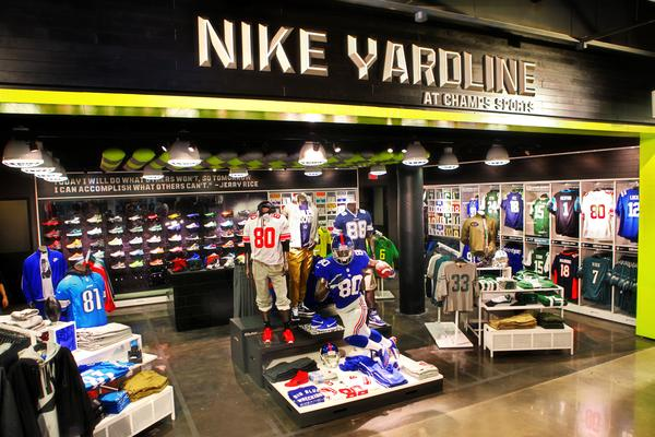 Nike and Champs launch first-ever football retail destination