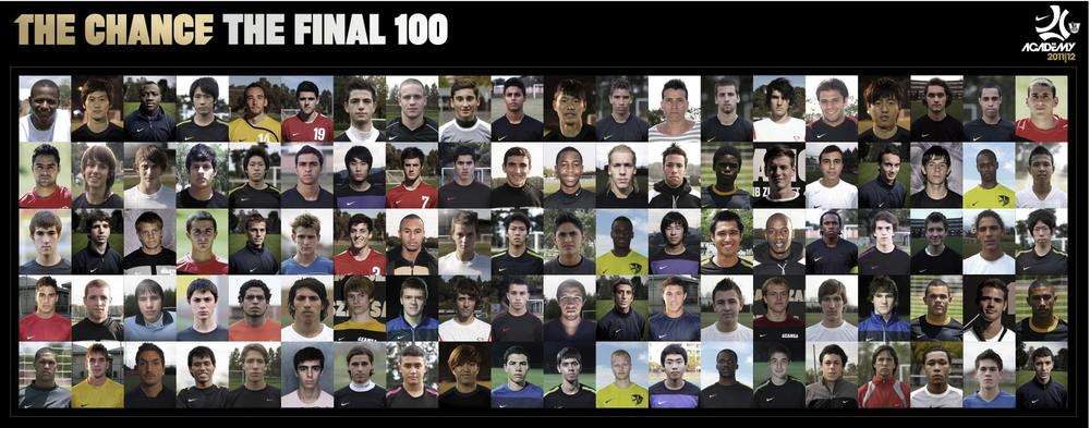 """""""The Chance"""" Final 100 Selected"""