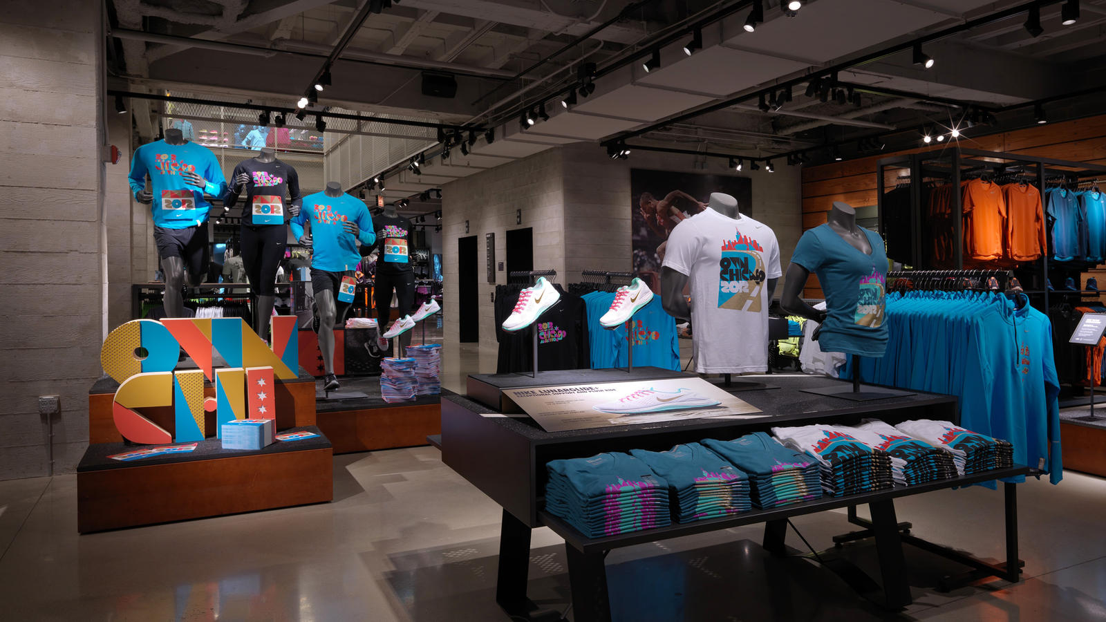 Nike Reopens Its Flagship Brand Presence In Chicago On Sept 27