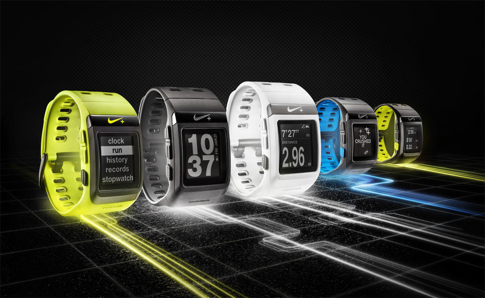 Nike+ SportWatch GPS Collection Adds White/Silver Edition