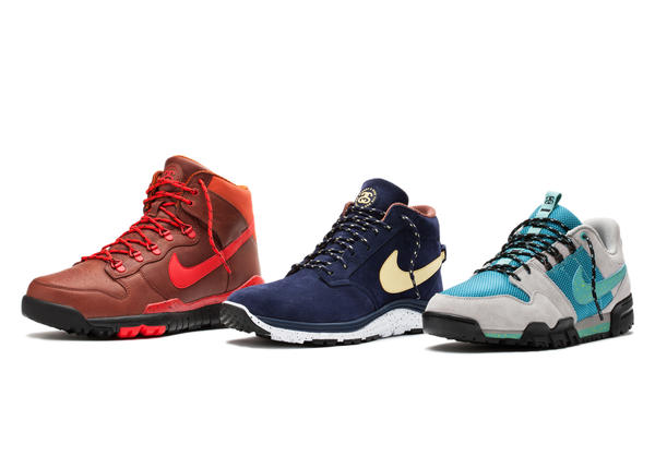 Nike and Stüssy Introduce the S&S Off Mountain Series