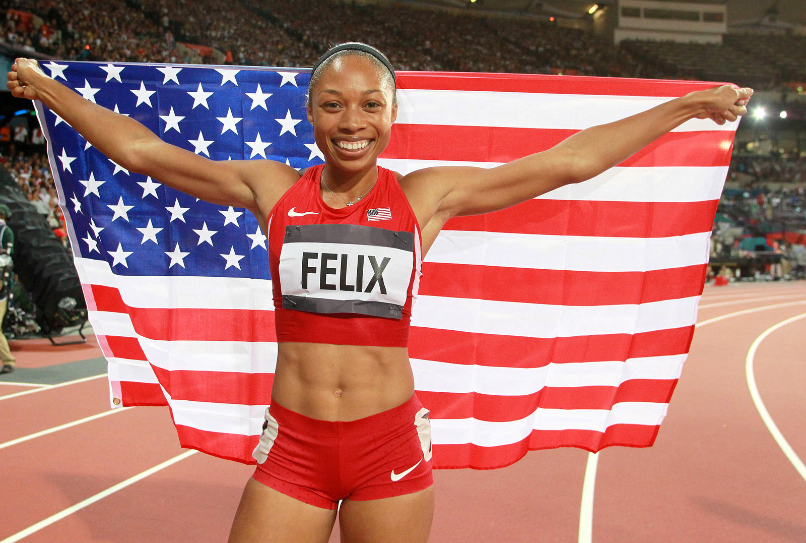 Allyson Felix to rally runners at Nike Night Run in Tel ...