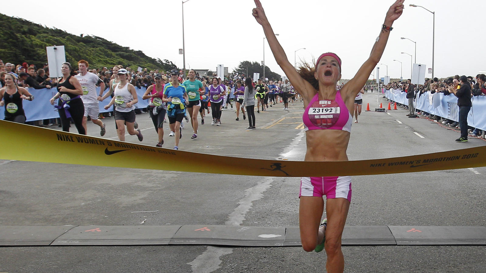 Nike Women's Marathon 2012 -- Full Marathon Winner