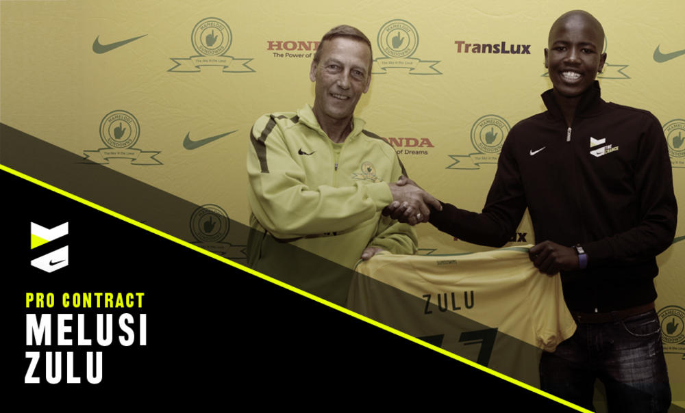 ZULU TAKES NIKE'S THE CHANCE OF A LIFETIME WITH MAMELODI SUNDOWNS FC