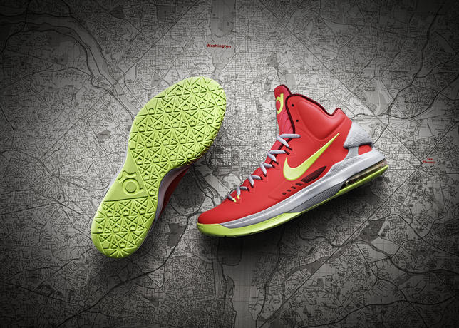 new product b12a8 8f2aa ... Kevin Durant s fifth Nike shoe · Contact us about this article.  12-390 nike kdv overhead sole map hero-04 large