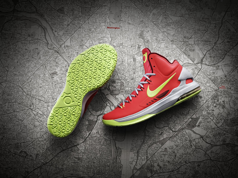 Unveiling the KD V, Kevin Durant's fifth Nike shoe