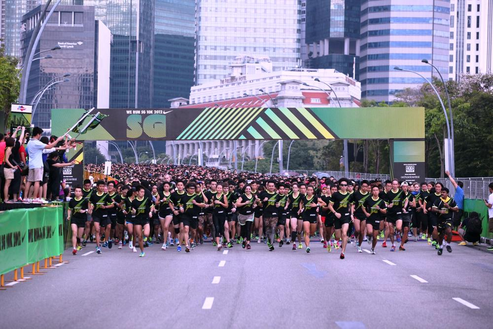 20,000 runners hit the streets of Singapore for Nike We Run SG 10K