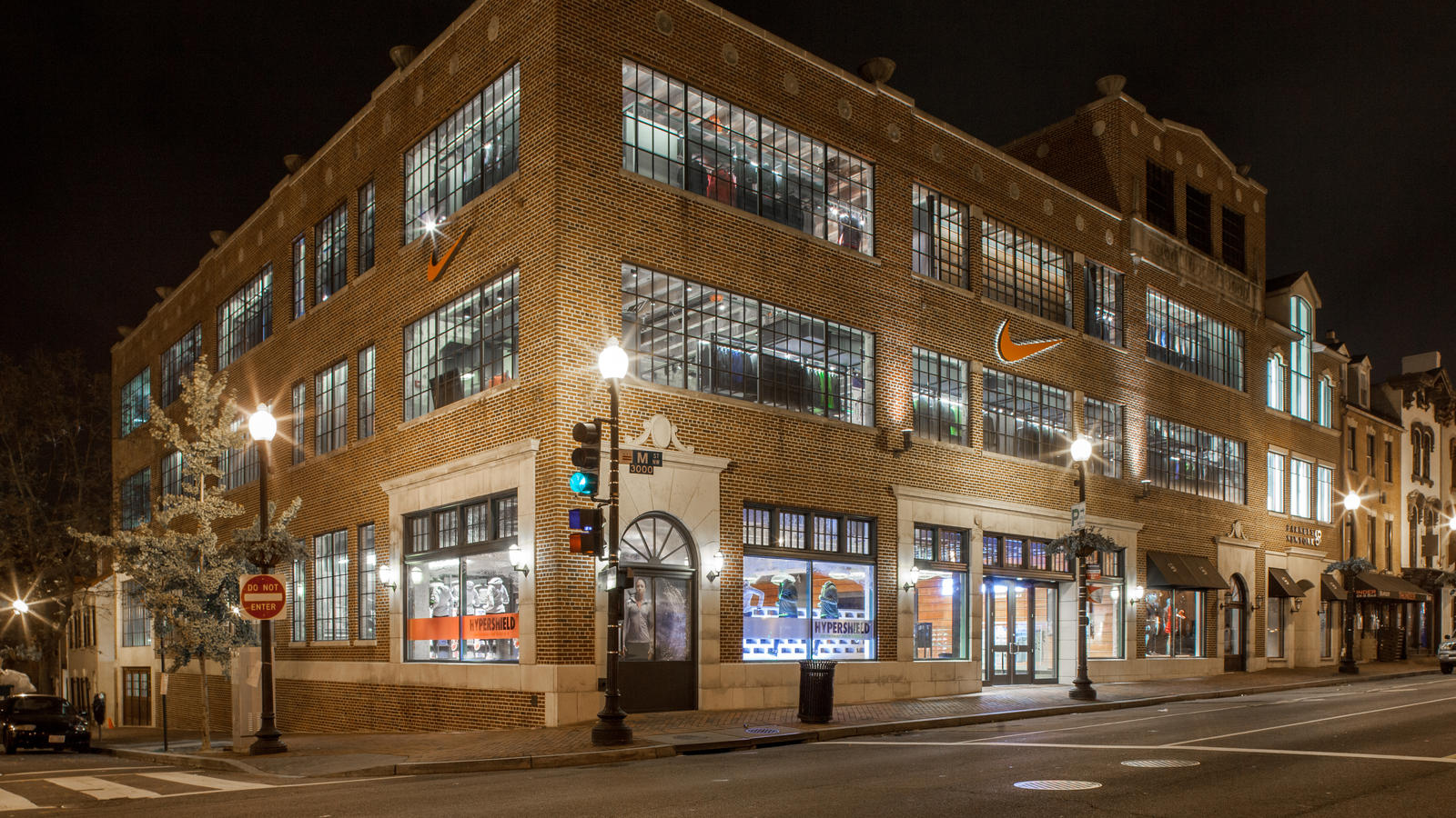 Nike georgetown opens in washington dc nike news for Buy house in dc