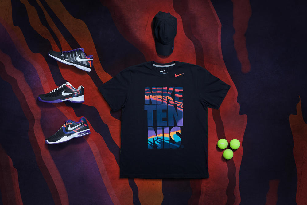 Nike Tennis introduces Flame collection