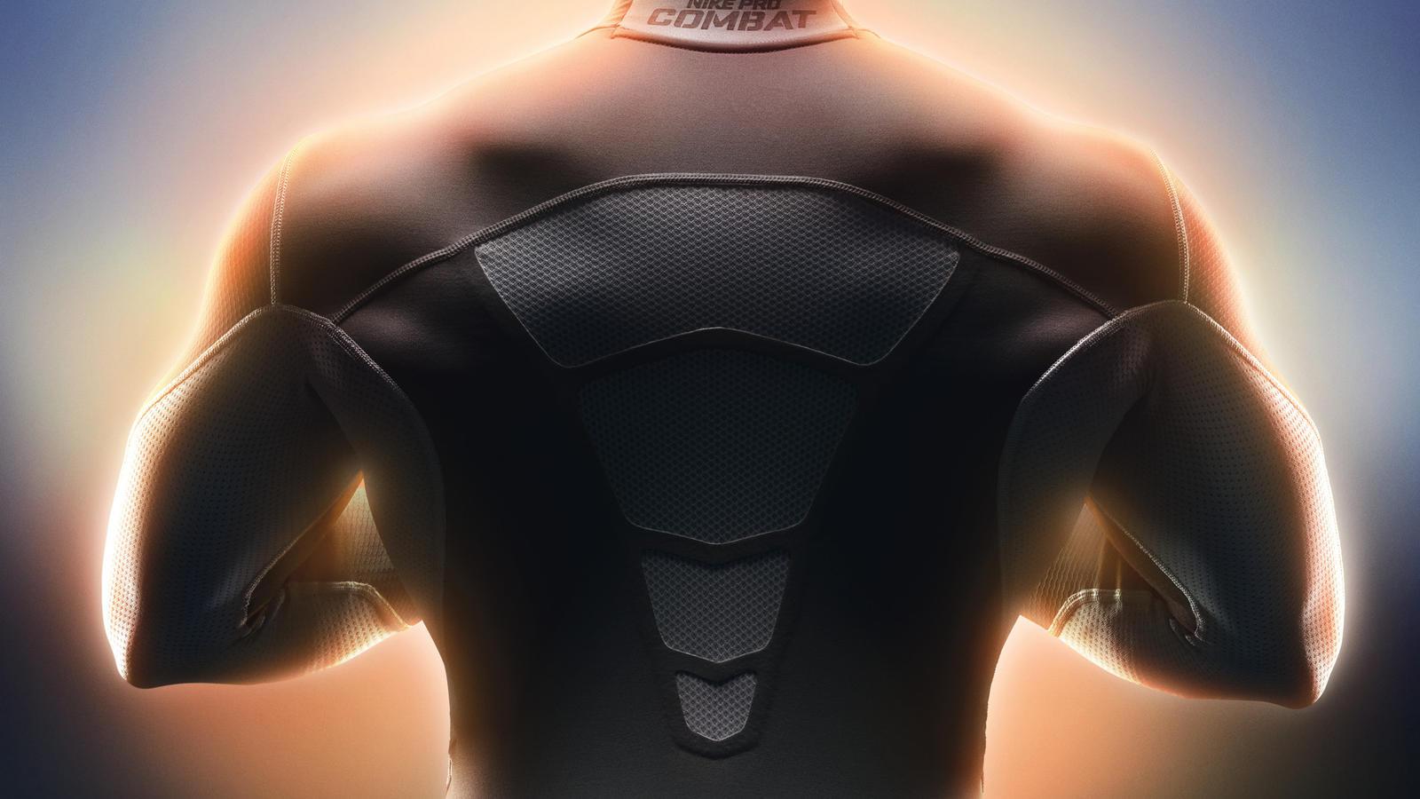 Nike Pro Combat Core Compression Hyperwarm Dri Fit Max
