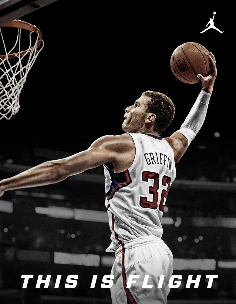 Jordan Brand Officially Welcomes Blake Griffin to its Roster