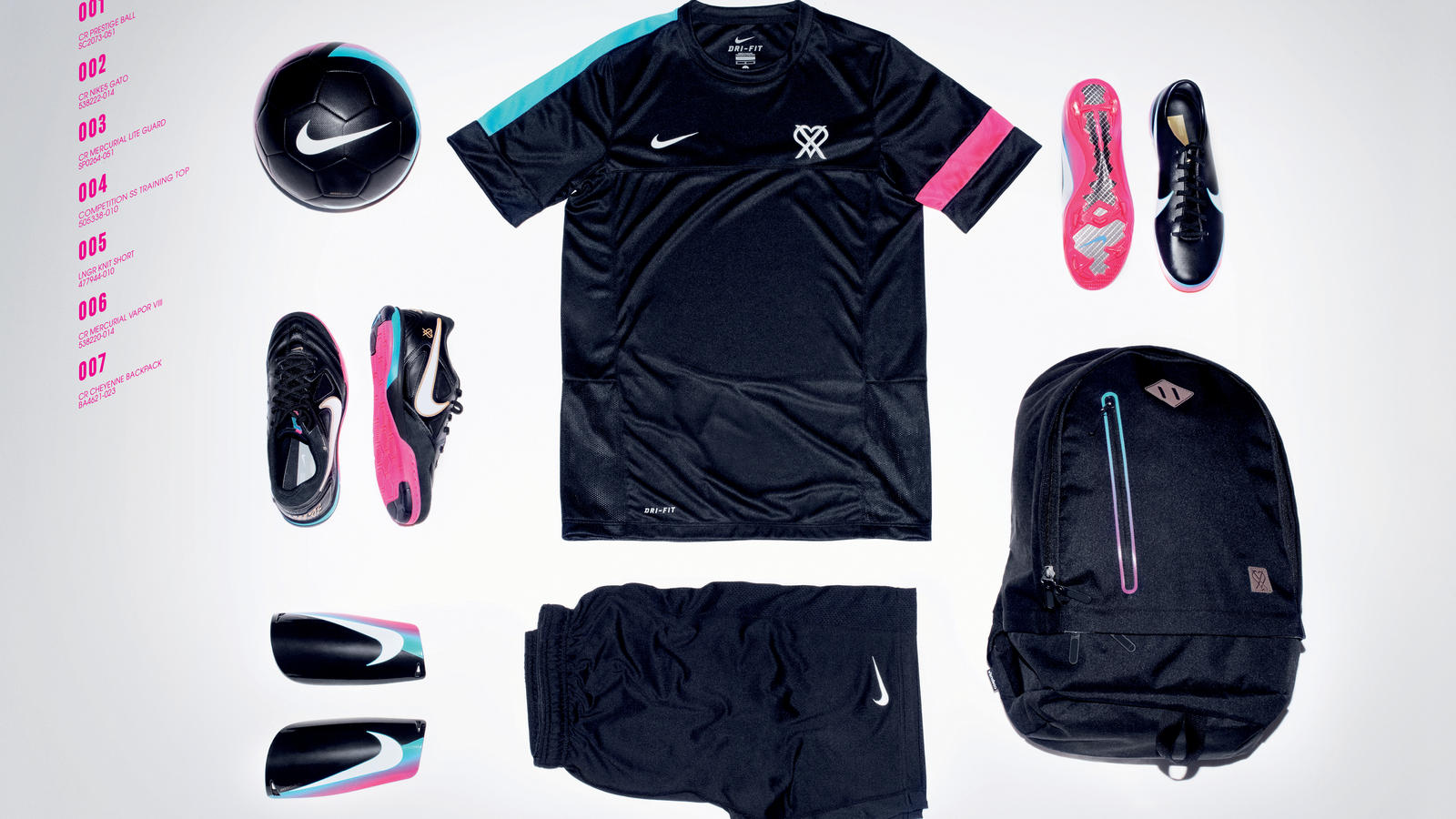 online store f9a68 c67ca Nike's CR7 collection reflects attitude and irreverence of a ...