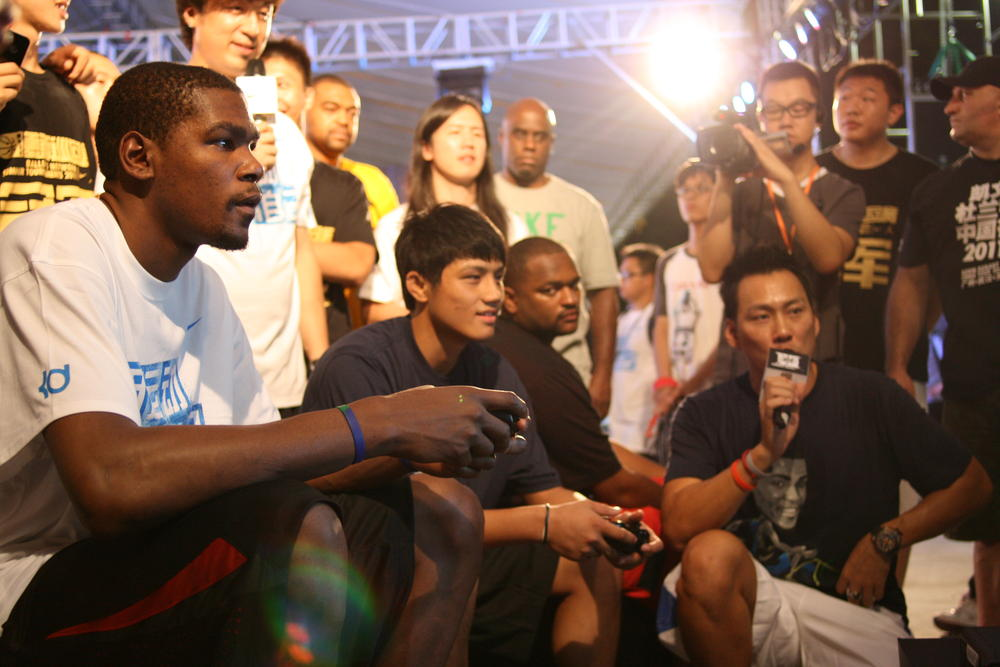 Kevin Durant China Tour: Guangzhou