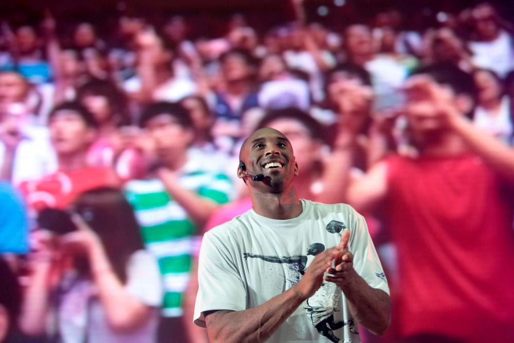 Kobe Bryant inspires fans in China