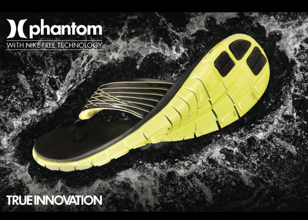 Hurley launches first-ever Phantom sandal
