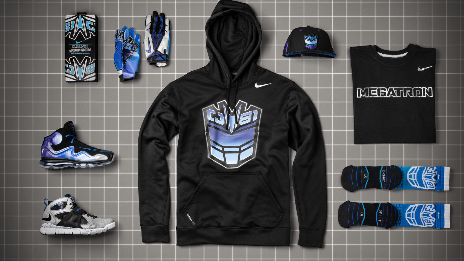 CJ81 Nike Collection inspired by Megatron