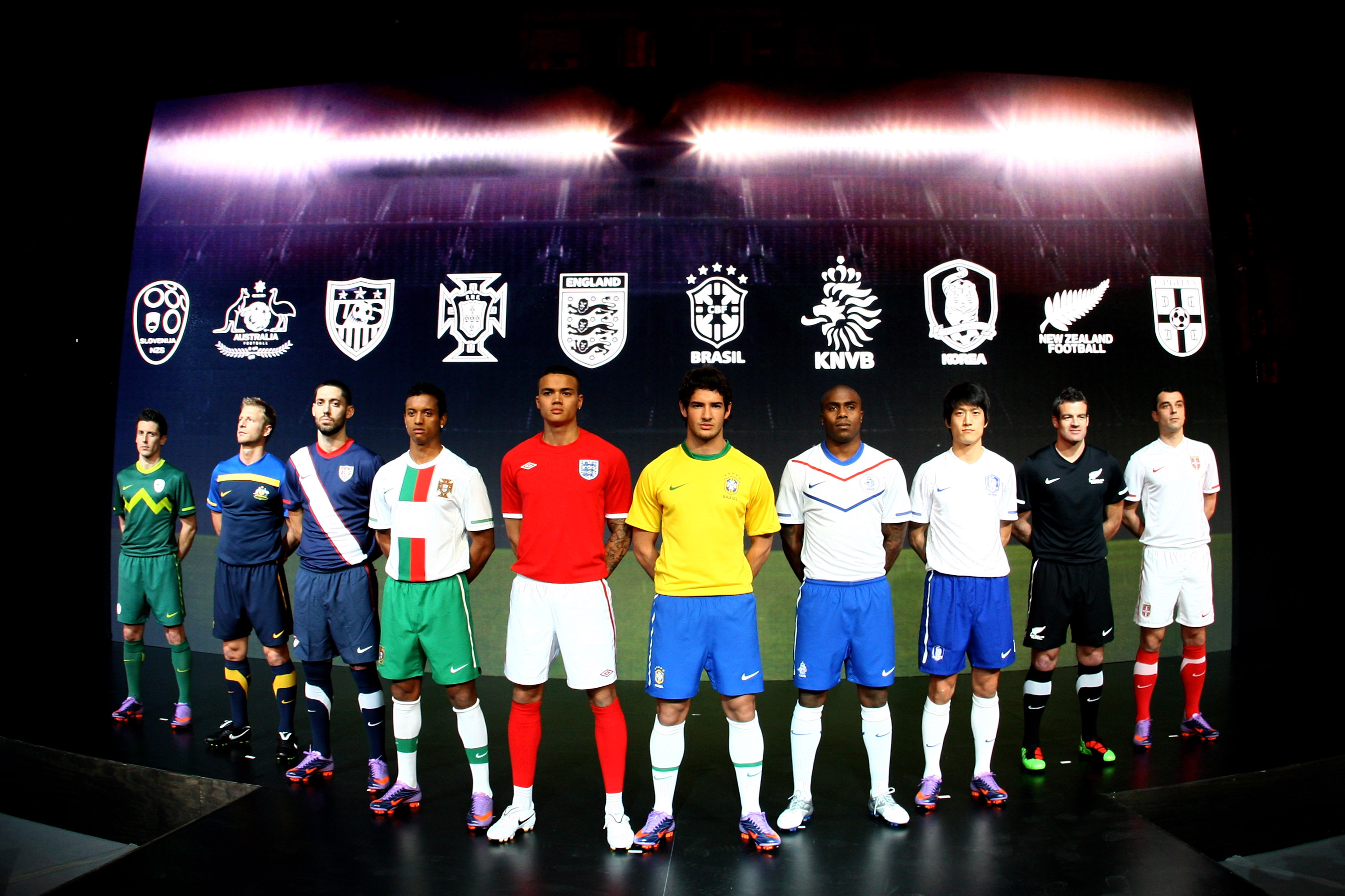 Nike Introduces 2010 National Team Kits - Nike News