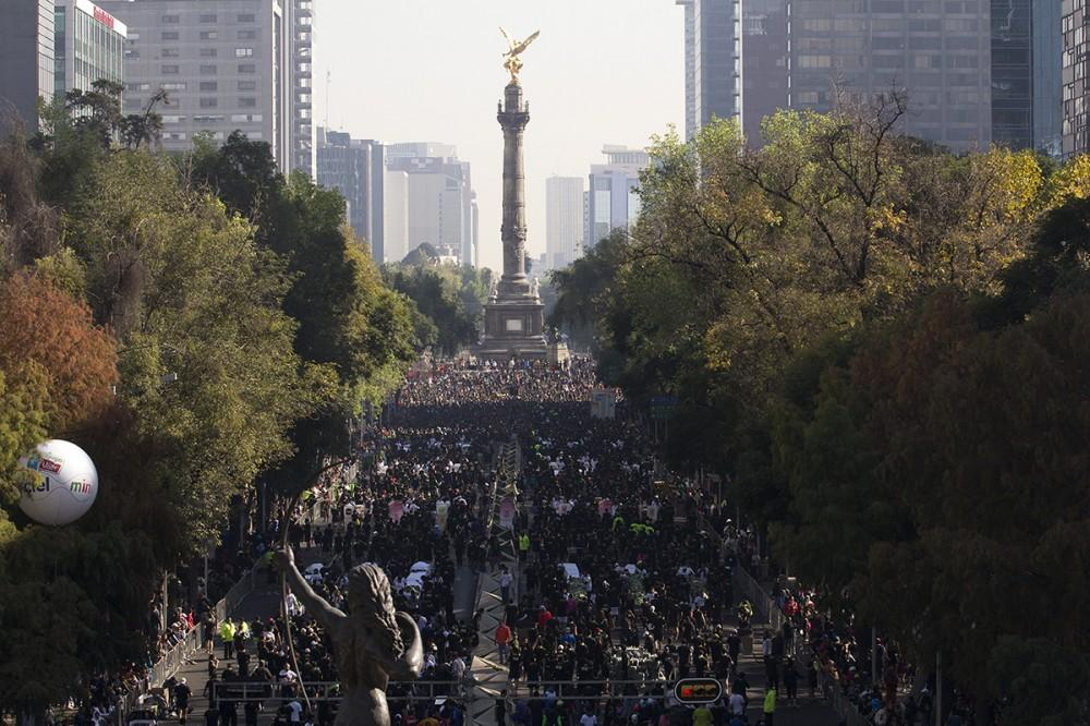 Nike We Run México DF brings 20,000 runners to the streets of the Federal District