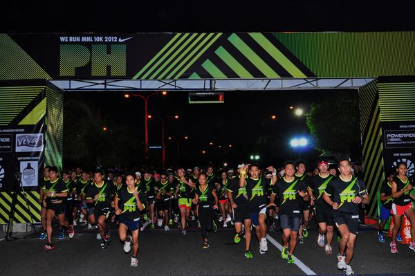 More than 13,000 runners energize the streets of Manila in Nike We Run MNL 10K