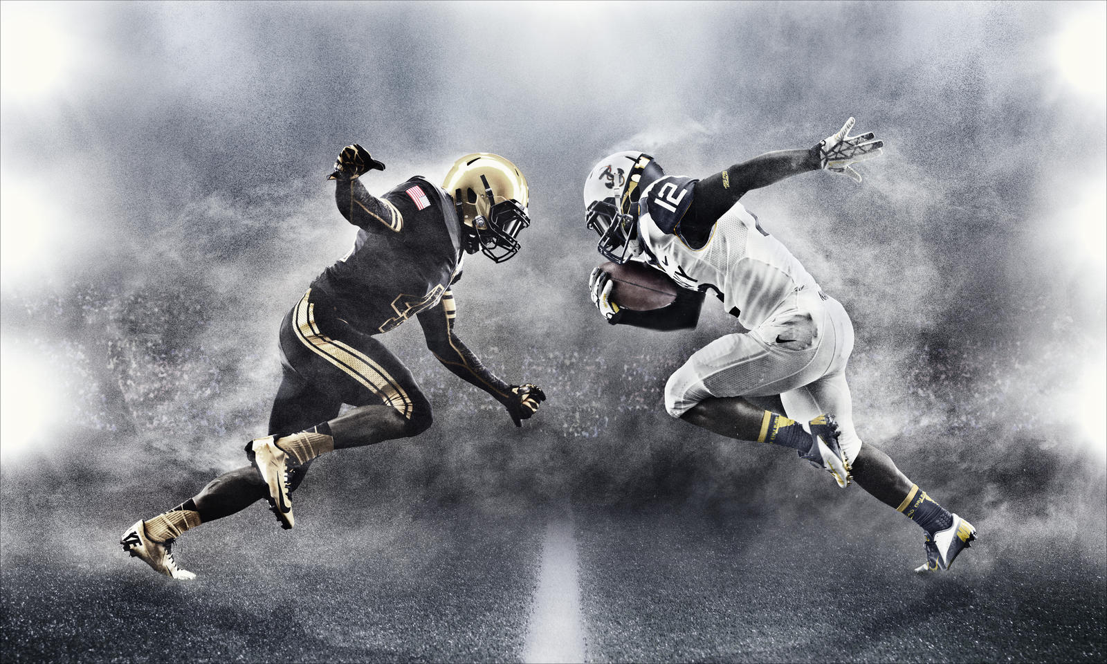 Army and Navy to take the field with new uniform designs this weekend - Nike News