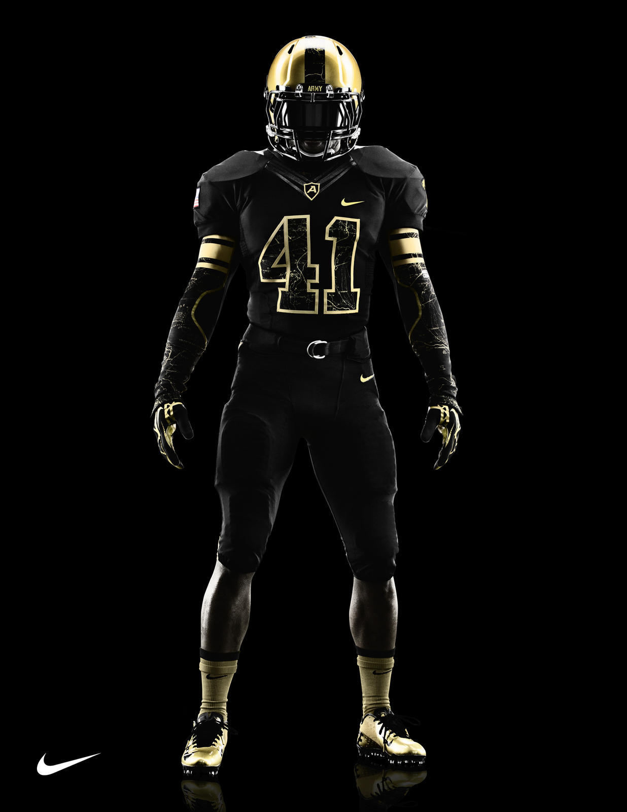 Michigan Jordan Gear >> Army and Navy to take the field with new uniform designs ...