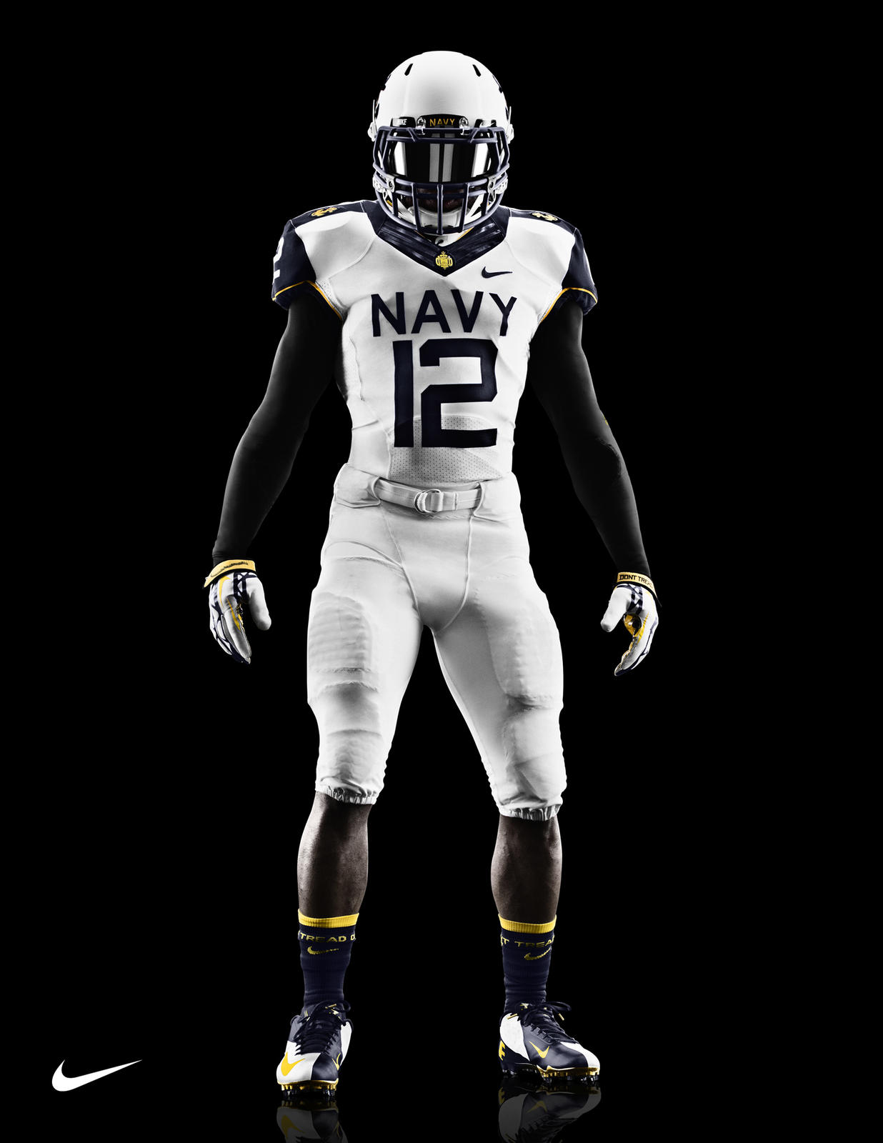 Nike Navy Midshipmen Shoes