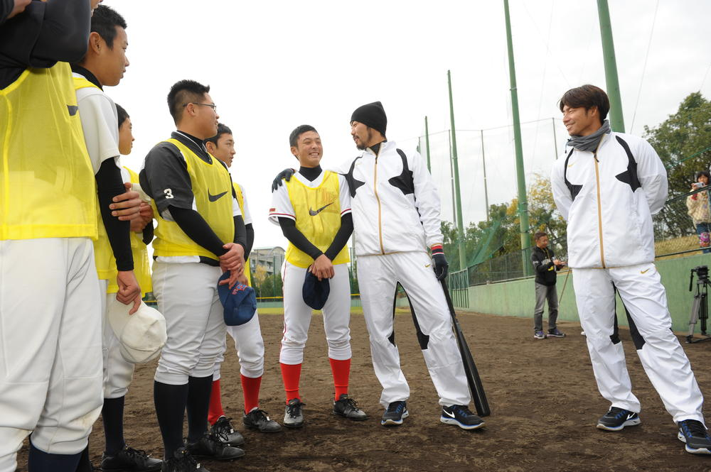 Nike Japan hosts two-day baseball clinic for youth