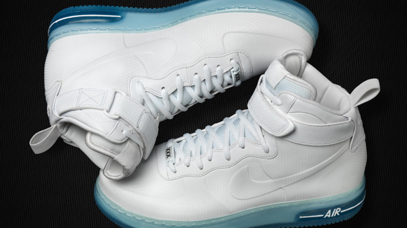 nike air force 1 black the foams sneakers