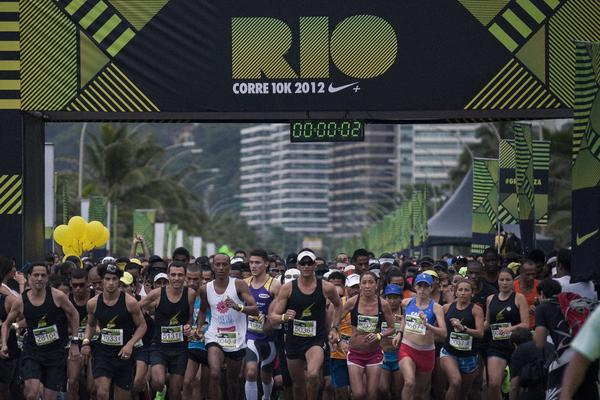 Interactivity sets the tone in Nike We Run 10K Rio de Janeiro