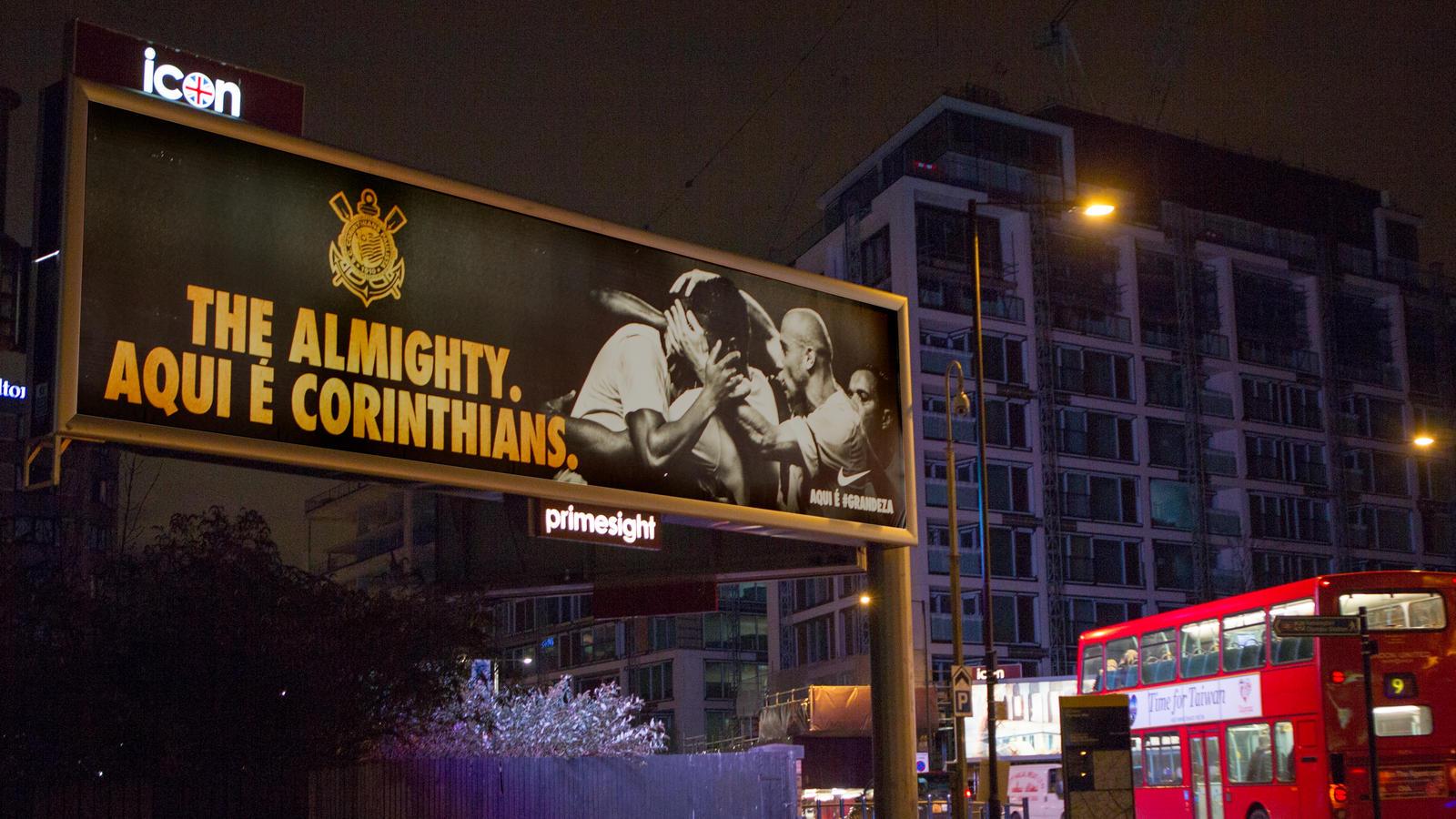 Nike Corinthians Billboard in London