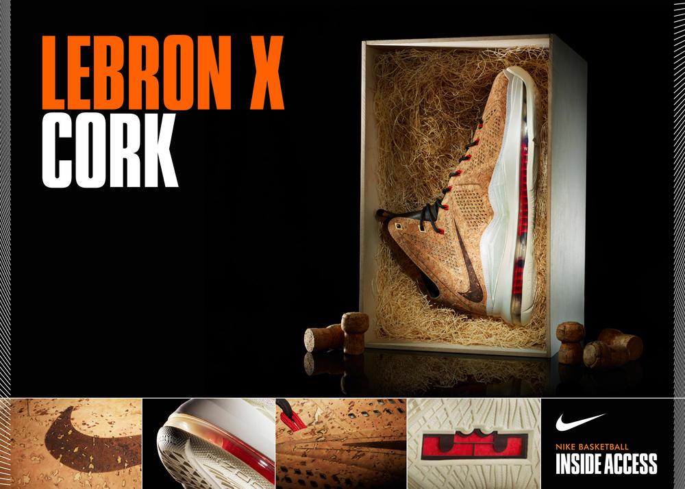 Inside Access: LEBRON X Cork 2013 Release