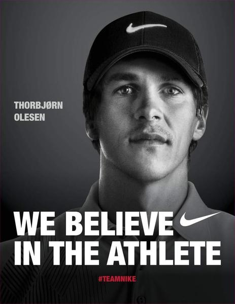 Nike Golf adds Thorbjørn Olesen to its athlete roster