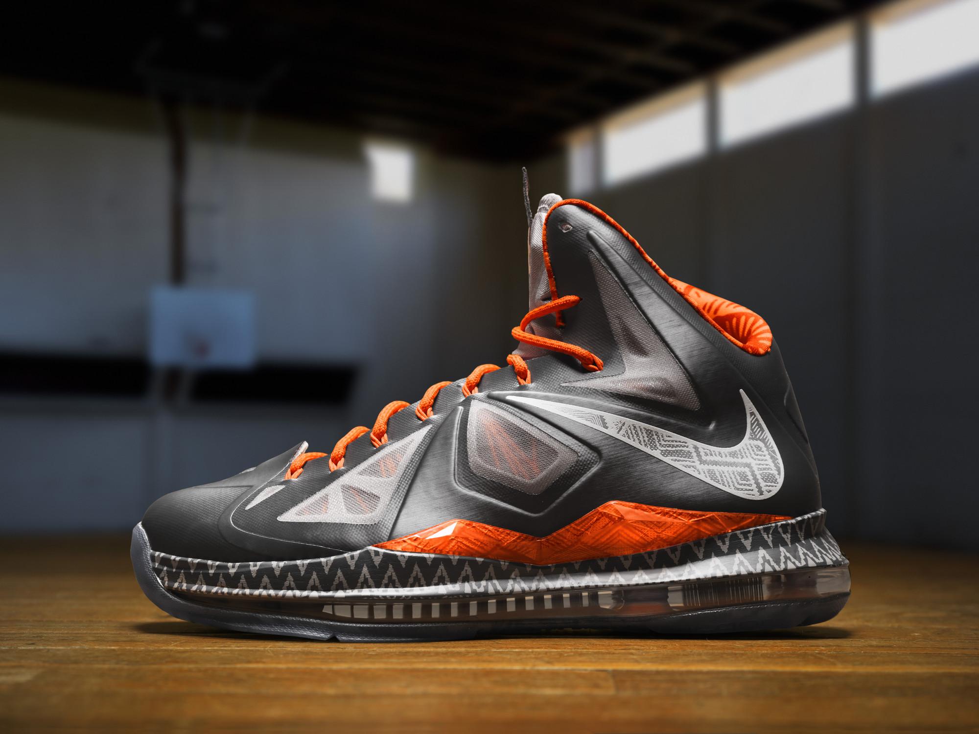 New Arrival 2015 Nike LeBron 10 BHM Black History Month