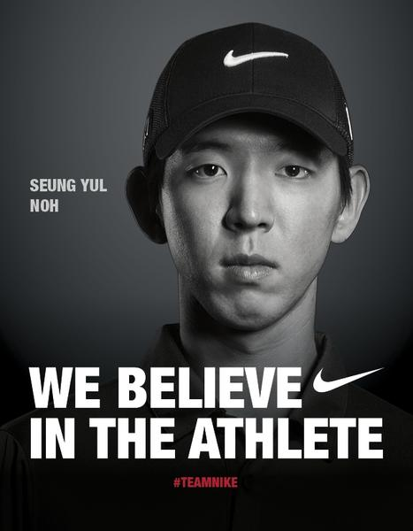 Nike Golf announces that Seung Yul Noh joins its athlete roster