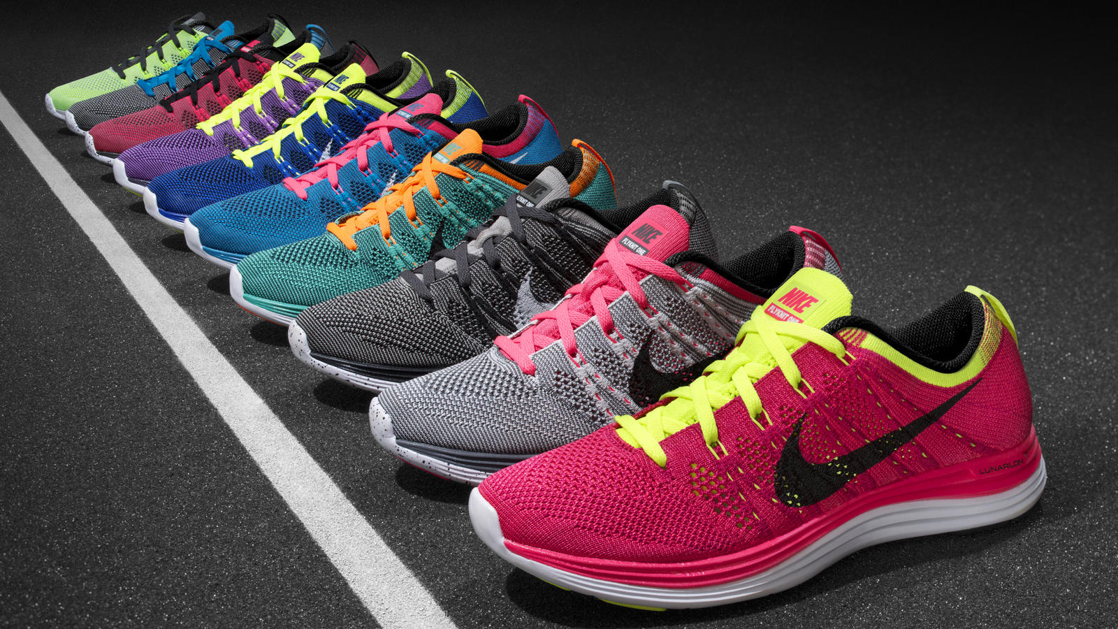 Nike Lunarlon In Flyknit Skin Ultra Soft Second And Fit Combine oBexdC