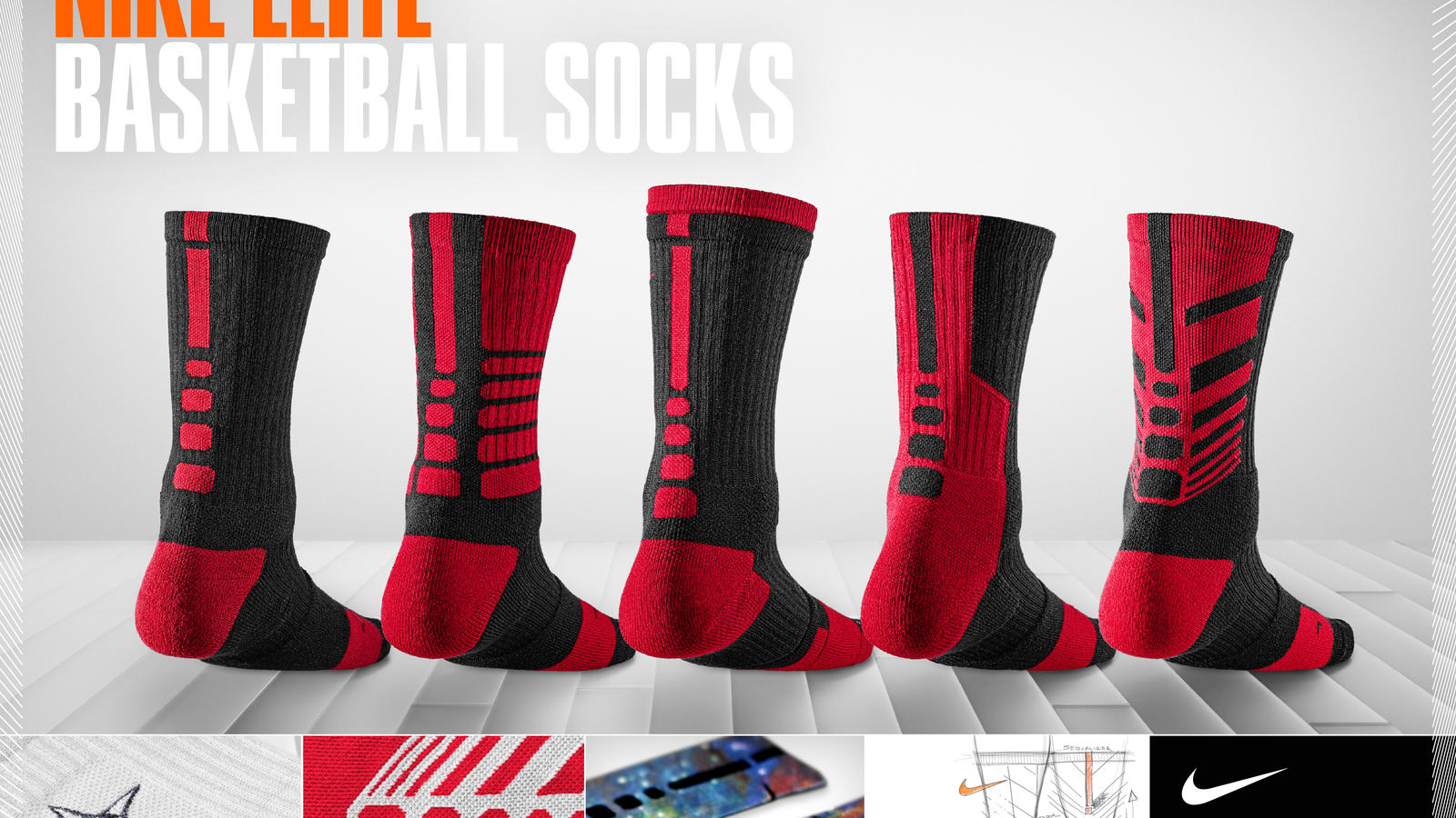longitud Intenso Ennegrecer  Inside Access: Behind the rise of the Nike Elite Basketball Crew Sock - Nike  News