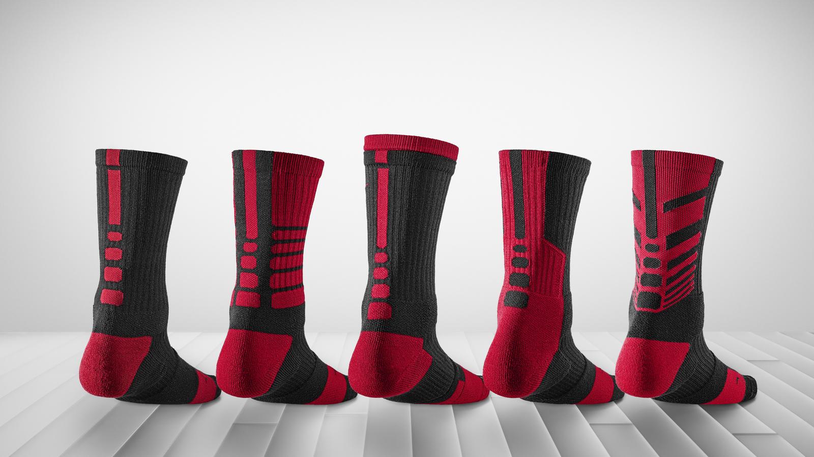 Nike Elite Graphic Basketball Crew Socks Mens
