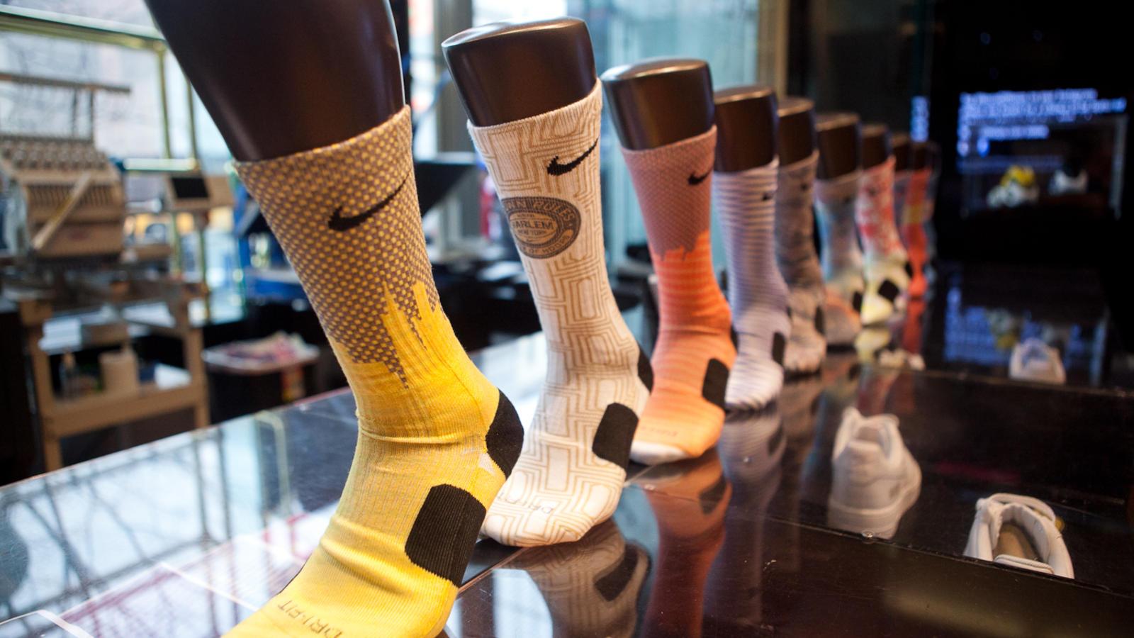 the Nike Elite Basketball Crew Sock
