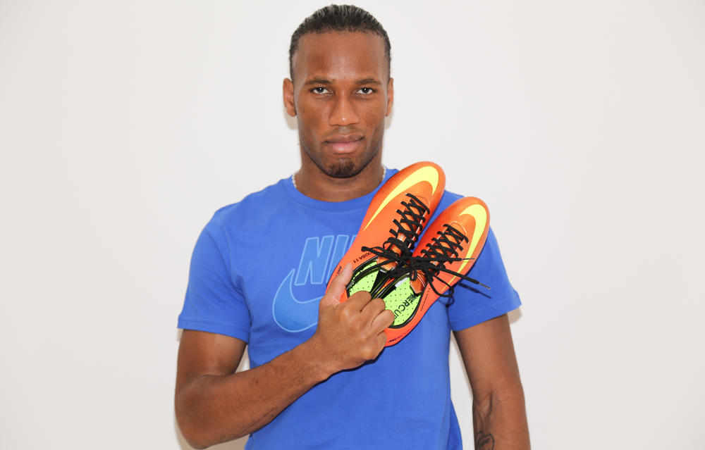 Drogba to debut Nike Mercurial Vapor IX Sunset colorway on Africa's biggest stage
