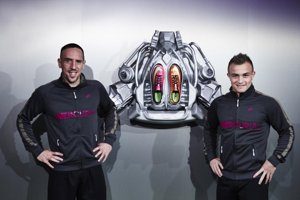 Top athletes join #BEMERCURIAL event in Munich