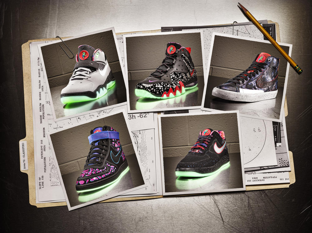 Nike Sportswear engineers top-secret Area 72 Collection featuring Raygun
